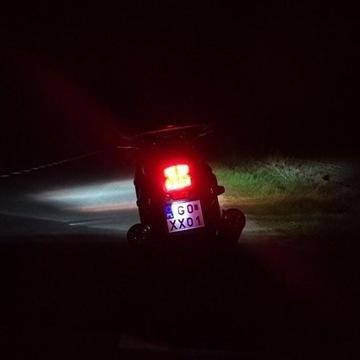 Honda CBR1100XX - tylna lampa LED