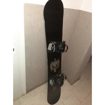 Deska snowboardowa K2 163cm + wiązania Drake,buty