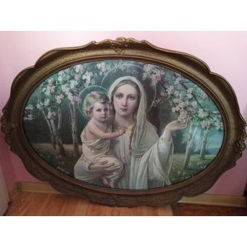 Obraz religiny - Matka Boska z dzieciątkiem