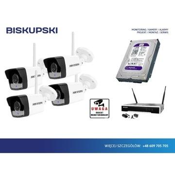 Monitoring zestaw bezprzewodowy Hikvision Wolsztyn