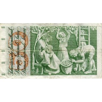 50 franków szwajcarskich