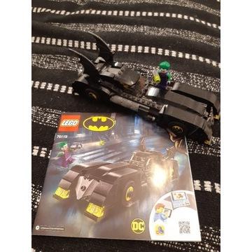 Lego 76119 bat mobil i Instrukcja