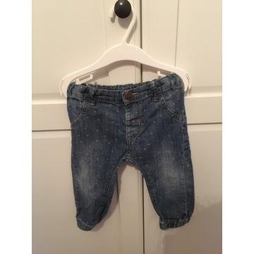 Kapphal spodnie jeans 80 cm 12 msc cena 10 zł