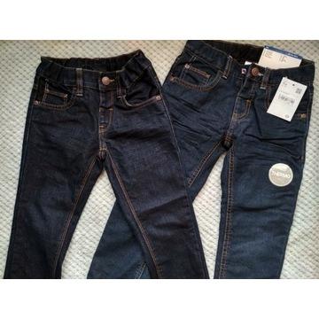 Dwie pary spodni C&A, 104, NOWE, 1 ocieplane
