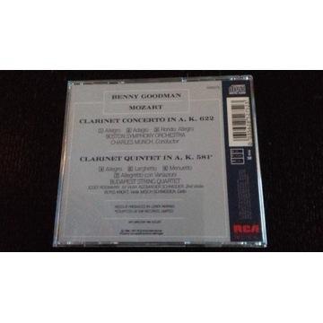 Benny Goodman Mozart Clarinet Concerto and Quintet