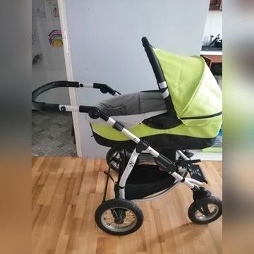 Wózek xlander xa gondola+spacerowka+ dodatki