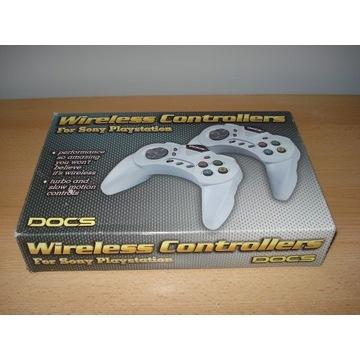 Bezprzewodowe pady Doc`s do PlayStation PSX