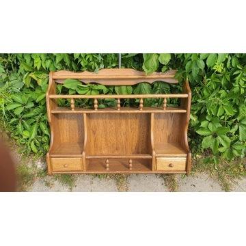 Drewniana półka ,galeryjka