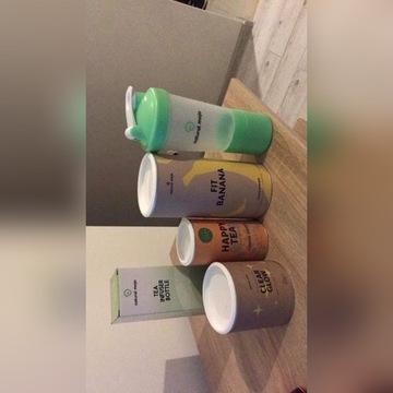 Herbatka + butelka od natural mojo