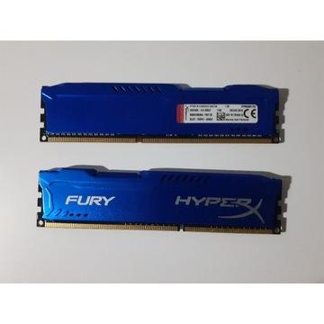 Kingston Hyper X Fury 2x 4GB DDR3 CL10