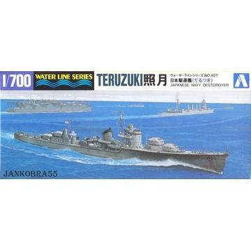 Japoński niszczyciel TERUZUKI