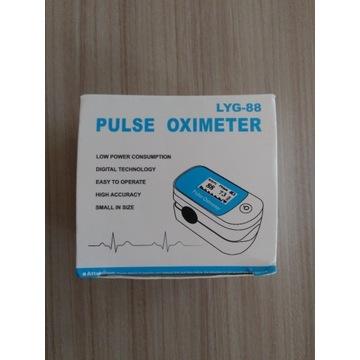 Pulsoksymetr medyczny napalcowy. NOWY.