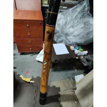 Didgeridoo australijskie jasne drewno