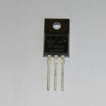 Tranzystor SVF12N65F 12A/650V n-channel driver LED