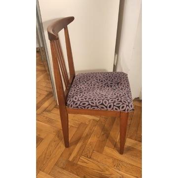 Dwa krzesła PRL, drewno stan bdb