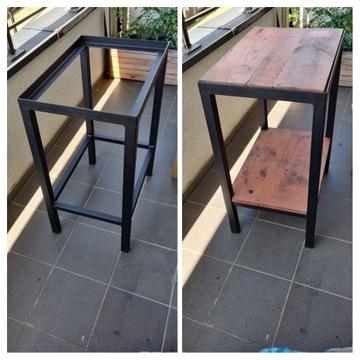 Stół stolik warsztatowy stalowy