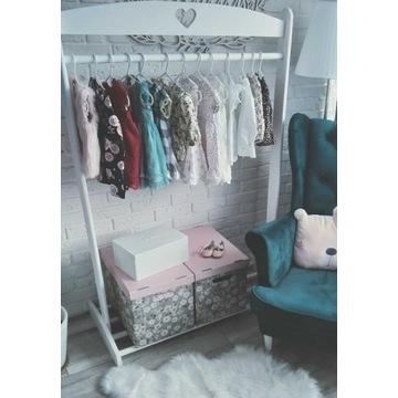 Wieszak dziecięcy garderoba stojak dla dziecka