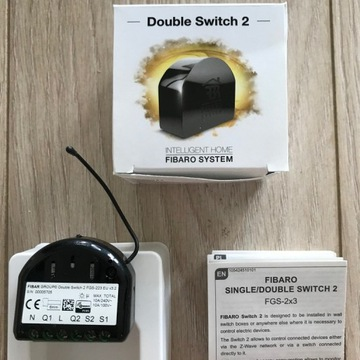 Fibaro Double Switch 2 FGS-223 EU v3.2 Z-Wave+