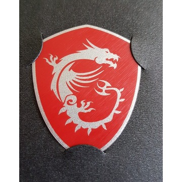Nowa Naklejka MSI Logo Gaming Dragon Smok