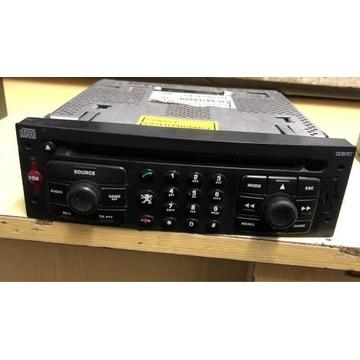 Peugeot 307sw Radio Fabryczne Obsługa Telefonu