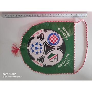 Proporczyk Legia Warszawa - Hajduk 1994