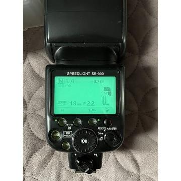 Lampa błyskowa Nikon SB 900