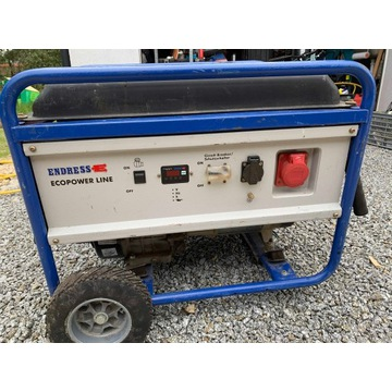 Agregat prądowy 3-f 5,5 kW Endress ESE 6000 DBS