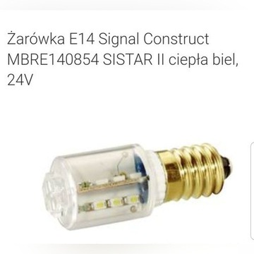 Żarówka E14 Signal Construct MBRE140854 SISTAR II