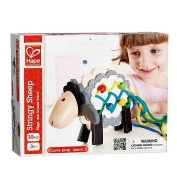 HAPE Sznurowana owieczka do nauki wiązania