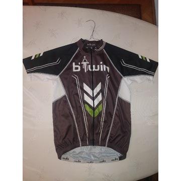 Btwin koszulka kolarska rowerowa EUR S