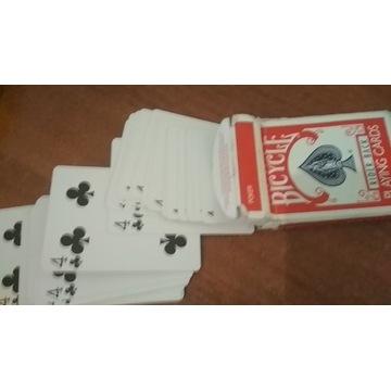 Talia identycznych kart. 52x[4 Trefl] do sztuczek