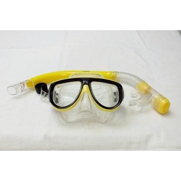 Zestaw nurkowy Fluent maska i fajka