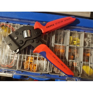 KNIPEX 975308 praska do zagniatania tulejek