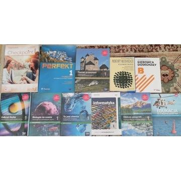 Podręczniki do szkoły ogrodniczej Technikum klasa1