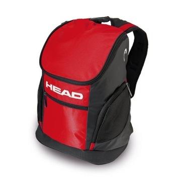 Plecak pływacki - Head - red / czerwono czarny