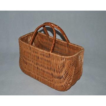 koszyk wiklinowy torba zakupy ,grzyby eko-wiklina