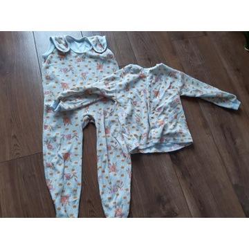 Pajac+ bluzka do spania 86/92