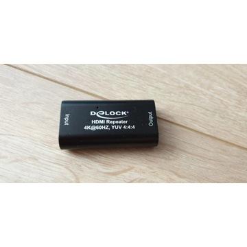 Wzmacniacz Delock Repeater HDMI 4K @ 60 Hz 30m