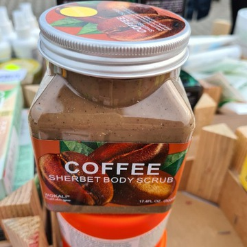 Kawowy peeling do ciała