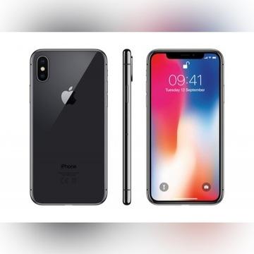 iPhone X 64 GB, GWARANCJA, Nowy. Case, szkło hart.
