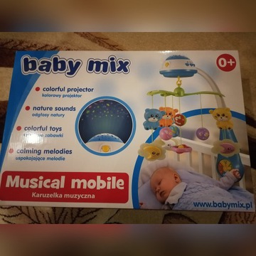 Karuzela z projektorem BABY MIX