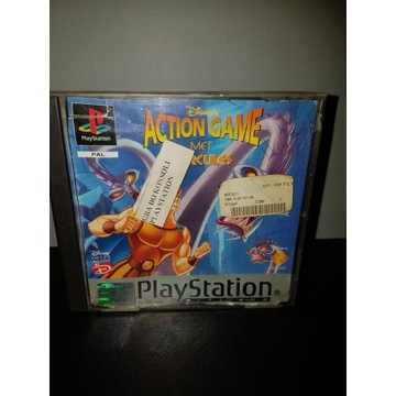 Disney's Action Game Featuring Hercules Ps1 PSX 3x