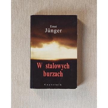 W stalowych burzach, Ernst Junger