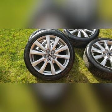 koła Mazda 5x114,3+ 215/45/R18 Bridgestone Turanza
