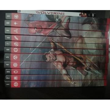 Kolekcja komiksów superbohaterowie marvela
