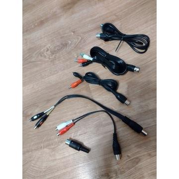 Przejściówka, adapter, kabel DIN - CINCH