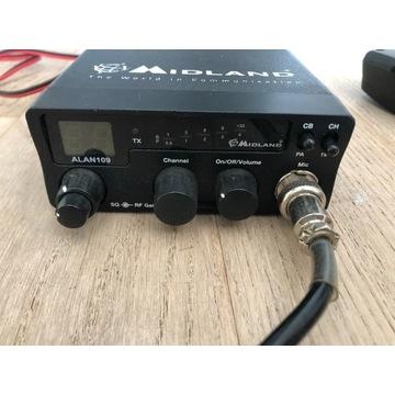 CB Radio Midland + antena
