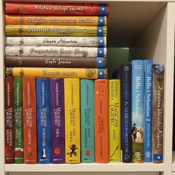 Książki, kroniki archeo, magiczne drzewo i inne