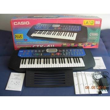 Keyboard Casio CTK 411 mimo że używany st jak nowy