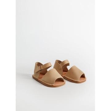 15-16 Skórzane MNG buty niechodki niemowlak